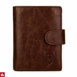 Men's Leather Practical Business Big Capacity Wallet