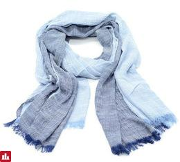 New Hot Sale Fashion Winter Scarf Denim blue solid color long cotton scarves shawl fashion men scarf