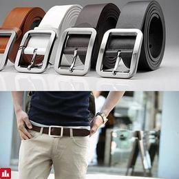 Fashion Men's Casual Dress Leather Belt Buckle Waist Strap Belt New