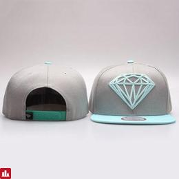 Fashionable Hollow Out Diamond Shape Embellished Color Splice Baseball Cap For Men