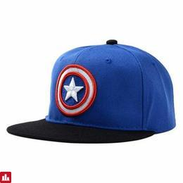 Fashionable Five-Pointed Star and Round Badge Embroidery Baseball Cap For Men