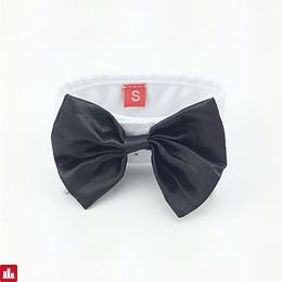 [$2.99] Dog Tie/Bow Tie Dog Clothes Black Costume For Pets Men's Wedding