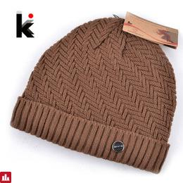 550539a358556 2018 winter beanie knitted wool hat plus velvet cap Thicker mens hats  beanies for men bonnet 5 colo