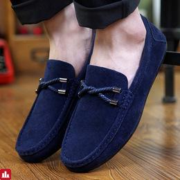 2015 Spring/Summer boat shoes Men Fashion shoes PU leather Moccasin shoes British men casual flats drivers shoe free shipping