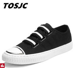 Tosjc 2018 Spring Summer High Quality Low Top Pu Boat Shoes Breathable Bottomed Single Classic Men Vulacanize Shoes Men002
