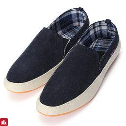 Mens Canvas Casual Trainers Boat Shoes