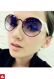 Punk Women Arrow Designer Sunglasses Brands Metal Frames