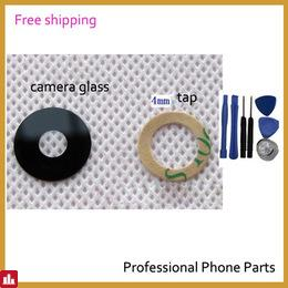 Original Camera Glass For MEIZU MX4 MX5 Pro6 M2 mini M3s Camera Glass Lens Housing Parts Replacement , Free Shipping