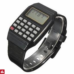 Children Silicone Date Multi-Purpose Electronic Wrist Calculator Watch