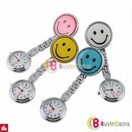 New Smile Face Nurse Fob Brooch Pendant Pocket Watch