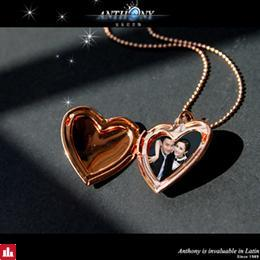 Magic Ikery Photo memory floating locket Heart Pocket Watch Pendants for Fashion Necklaces  Gold Color Jewelry for Women  A1001