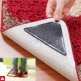 4pcs/lot Carpet Non Slip Bath Mat Tri Sticker Hot Sale Anti Slip Shower Strips Flooring Safety Sticker Mat Pad 10cmX10cm