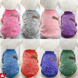 Dog Clothes For Small Dogs Soft Pet Dog Sweater Clothing For Dog Summer Chihuahua Clothes Classic Pet Outfit Ropa Perro 25S1