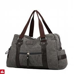 Men's Bags Canvas Travel Bag for Casual All Seasons Gray Olive Brown Cream Khaki