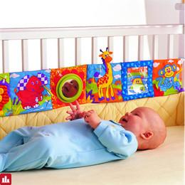 Baby Toys Baby Cloth Book Knowledge Around Multi-touch Multifunction Fun And Double Color Colorful Bed Bumper SA874354