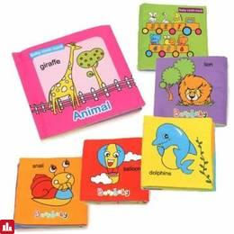Baby Kids Child Intelligence Educational Development Cognize Soft Cloth Book