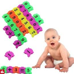 36Pcs puzzle for Baby Child Number Symbol Puzzle Foam Maths Educational Toy Gift 3d metal puzzles learning education toys