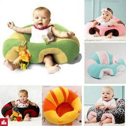 Baby Chair Baby Cute Support Seat Sofa Learning To Sit Comfortable Travel Car Seat Pillow Cushion Plush Toys For Baby 0-2 Years