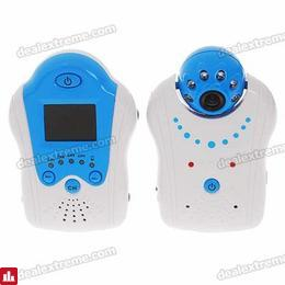 "2.4GHz Wireless Night Vision Surveillance Camera with 1.5"" LCD Handheld Baby Monitor"