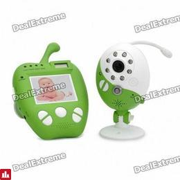 "2.4GHz Wireless 2.0MP Security Surveillance Camera w/ 2.4"" LCD Baby Monitor (NTSC / PAL)"