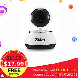 OUKU® 720P HD IP Camera Home Security Smart WIFI Webcam Night Vision Baby Monitor Home Safety