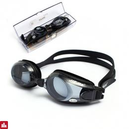 Myopic -1.5 to -8.0 Anti Fog Swimming Goggles Adjustable UV Swim Glasses