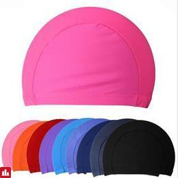 1Pcs New Swimming Cap Hat For Men Women Adults Protect Ears Long Hair Sports Swim Pool Free size 5 Colors