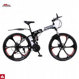 Full suspension mountain bike folding bicycle Altruism xirui X9 mountain bicycles 24 speed 26 inch bike for Mens unisex children