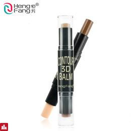 2 in 1 Complexion+Embellish Highlighter and Shimmer Stick Concealer Bronzer 3 Colors 6.2g Face Makeup Brand HengFang #H8449