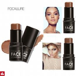 Focallure Top Quality Brand Makeup Bronzer & Highlighter Cosmetics Face Highlighter Shimmer Powder Cream Brighten Light