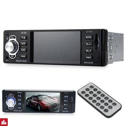 4.1 Inch In-Dash HD Digital Car MP5 Player FM Radio 1 DIN Car Audio Video Player USB SD AUX Interfaces Dynamic Menu Interface