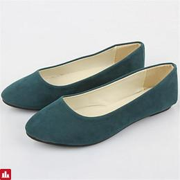 Women's Shoes Fleece Summer Flat Heel Royal Blue / Burgundy / Dark Green